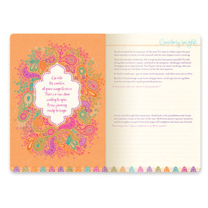 Intrinsic Inspirational Diary with inspiring quotes and guided journaling prompts for reflection and soul-searching