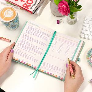 Intrinsic Inspirational Diary, Goal Planner and Daily Organiser with positive quotes and messages by Adèle Basheer