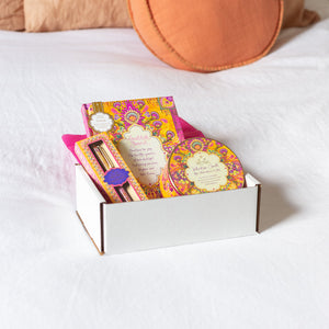 Intrinsic Adele Basheer Gratitude Journal and Joy Affirmations Care Gift Pack - Online Present