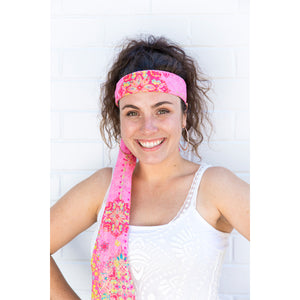Intrinsic Beautiful Angel Tassel Head Scarf