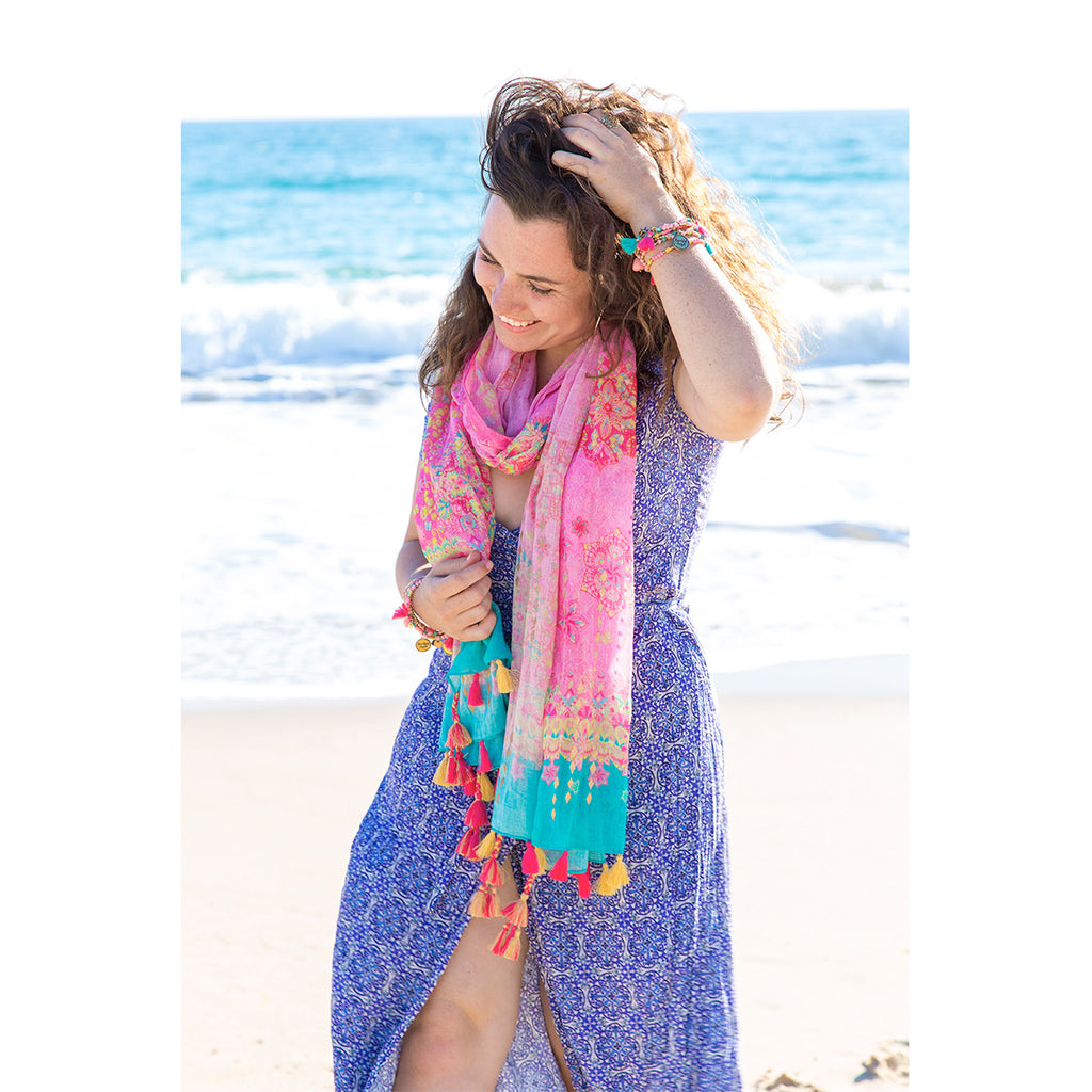 Intrinsic Beautiful Angel Summer Beach Scarf