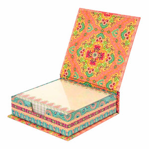 Intrinsic Coral Beautiful Dreamer Desk Notepaper Box