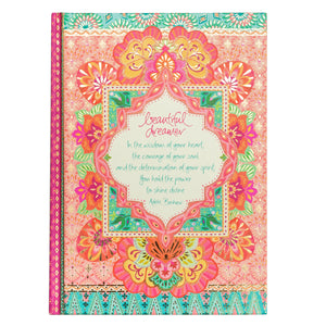 Intrinsic Coral A5 Blank Journal