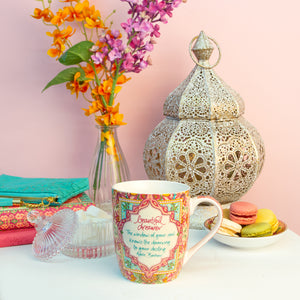 Beautiful Dreamer Coral Coffee Mug