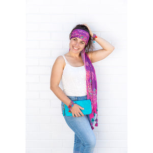 Intrinsic Beautiful You Tassel Head Scarf