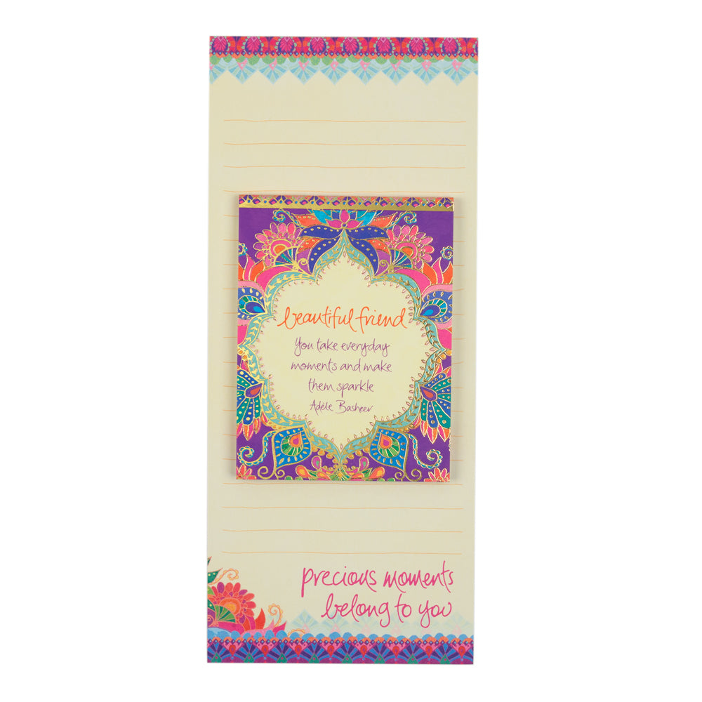 Intrinsic Beautiful Friend Shopping List pad