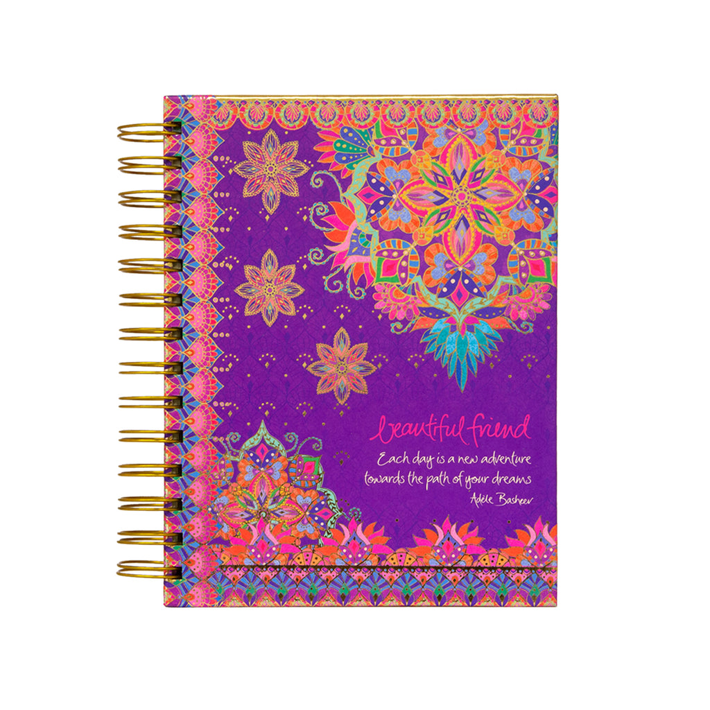 Intrinsic Beautiful Friend Lined Spiral Journal