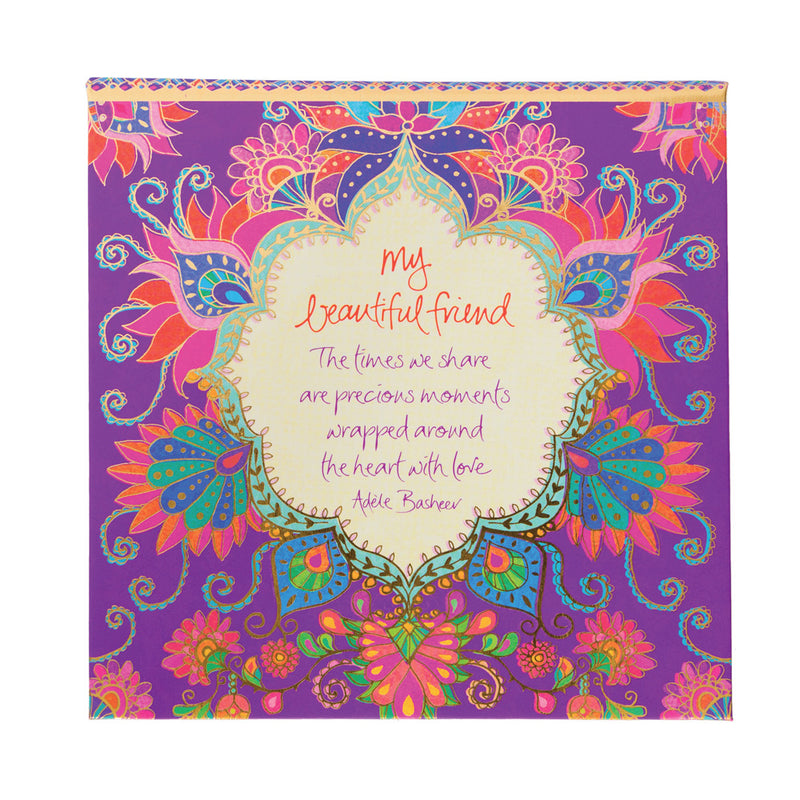 Intrinsic Purple and Hot Pink Patterned Note Paper