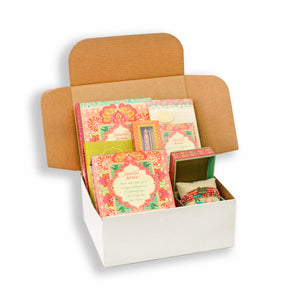 Beautiful Dreamer Coral Care Package and Gift Pack with inspirational stationery