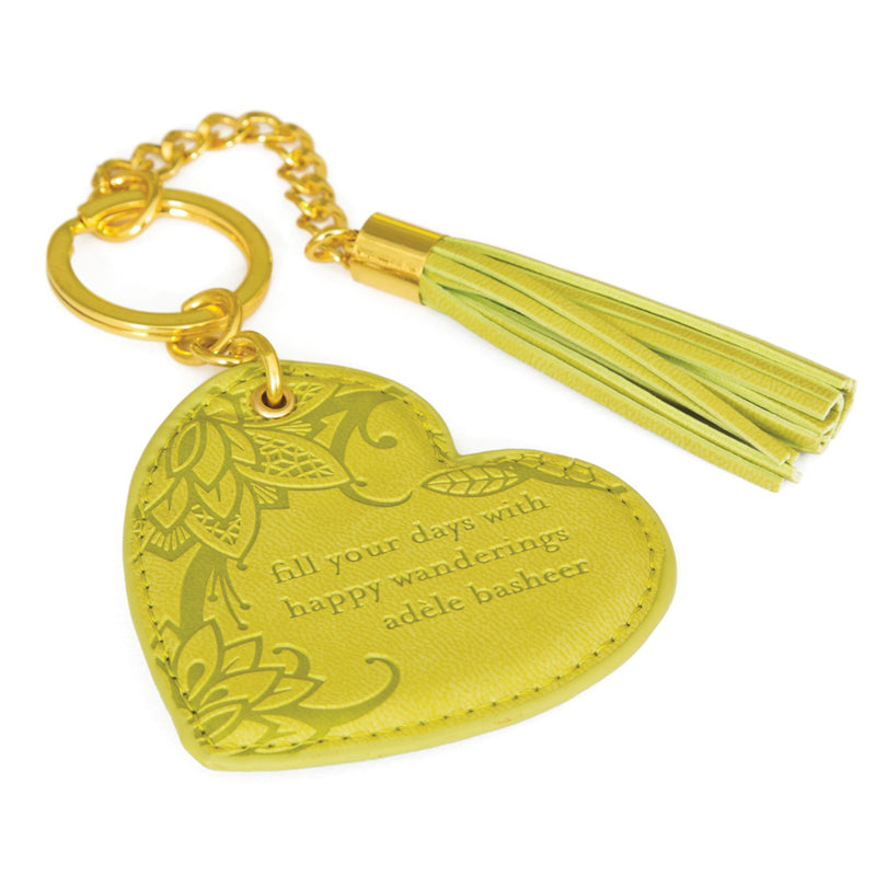 Chartreuse Key Chain