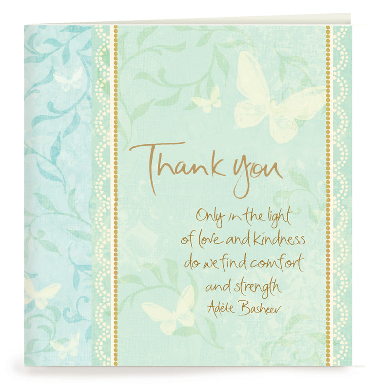 Condolence Thank You Cards Set of 20