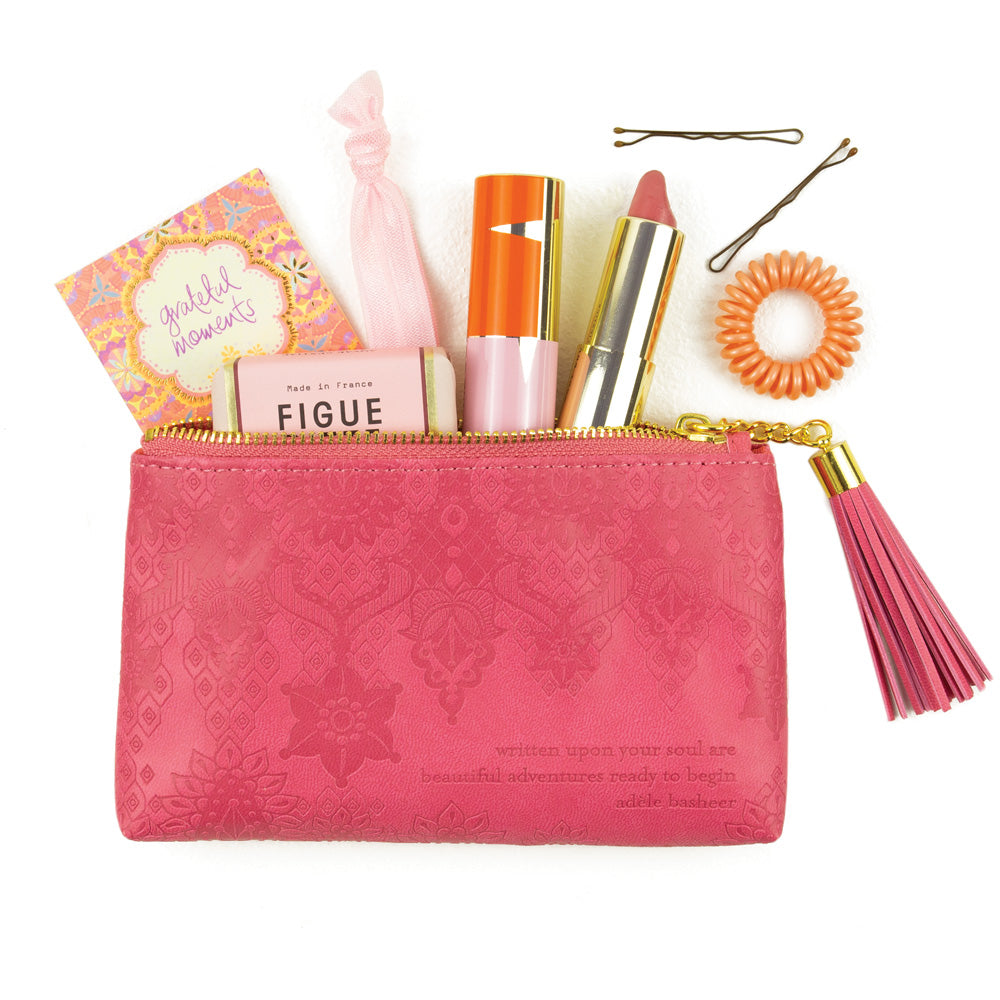 Intrinsic Mini Coral Make Up Purse