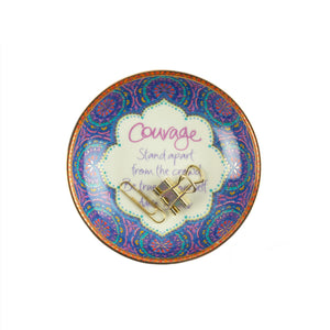 Intrinsic Ceramic Courage Trinket Dish