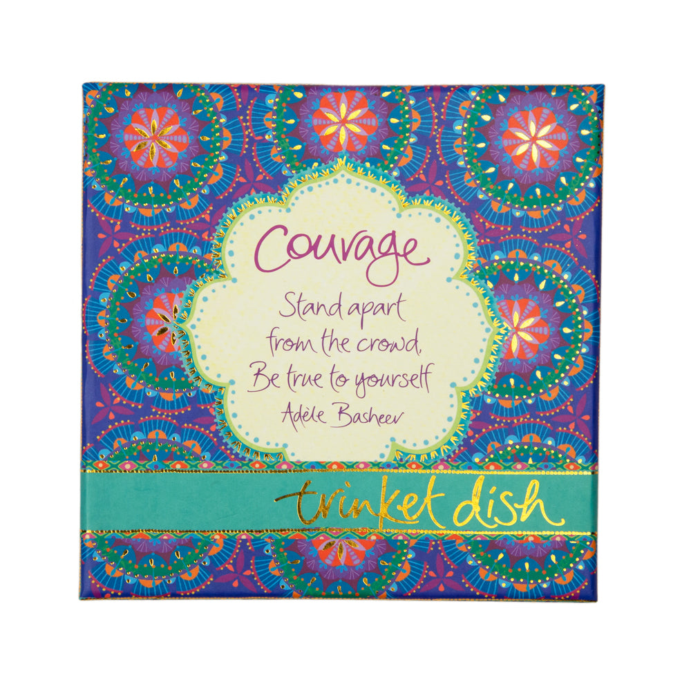Intrinsic Courage Trinket Dish Sparkling Packaging