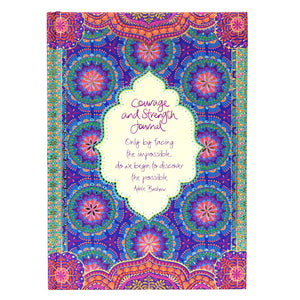 Intrinsic Courage & Strength Guided Theme Journal