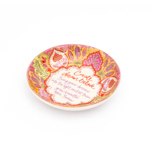 Create Dream Believe Trinket Dish