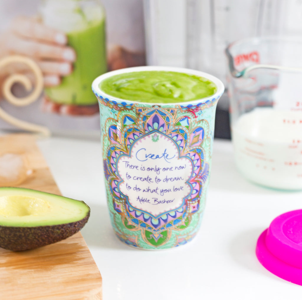 Australian Ceramic Keep Cup for smoothies and juices