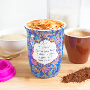 Dare to Dream Reusable Coffee Cup