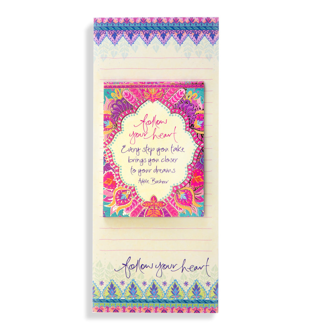 Intrinsic Follow Your Heart List Pad Set