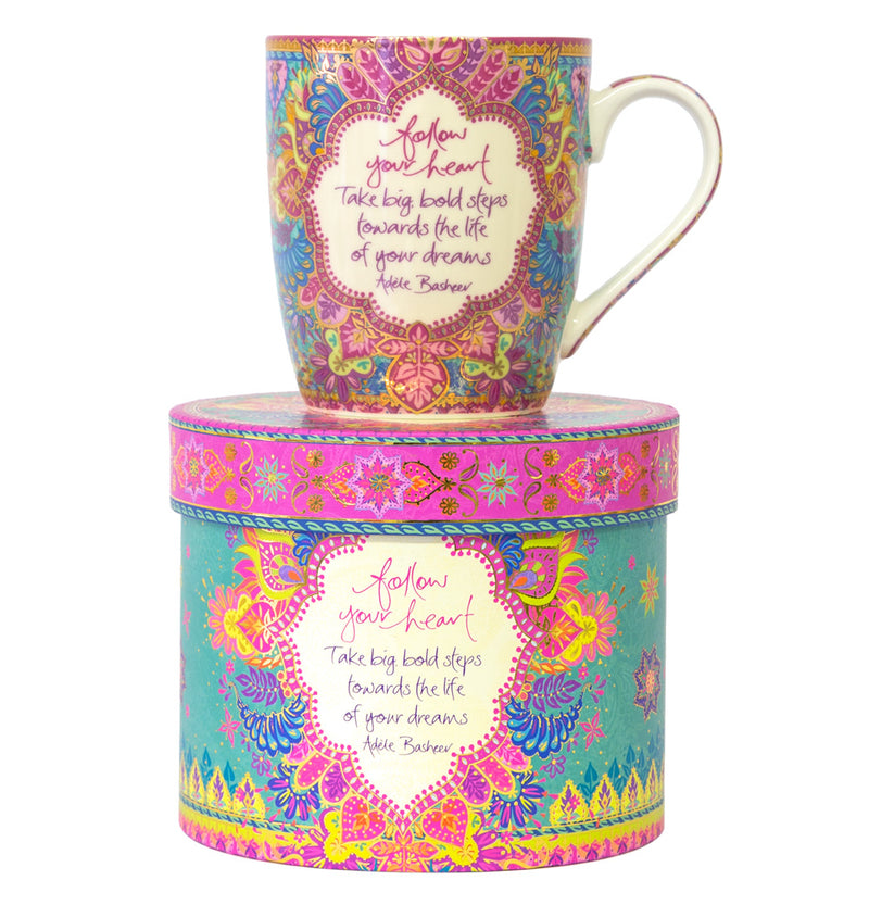 Intrinsic Follow Your Heart Mug