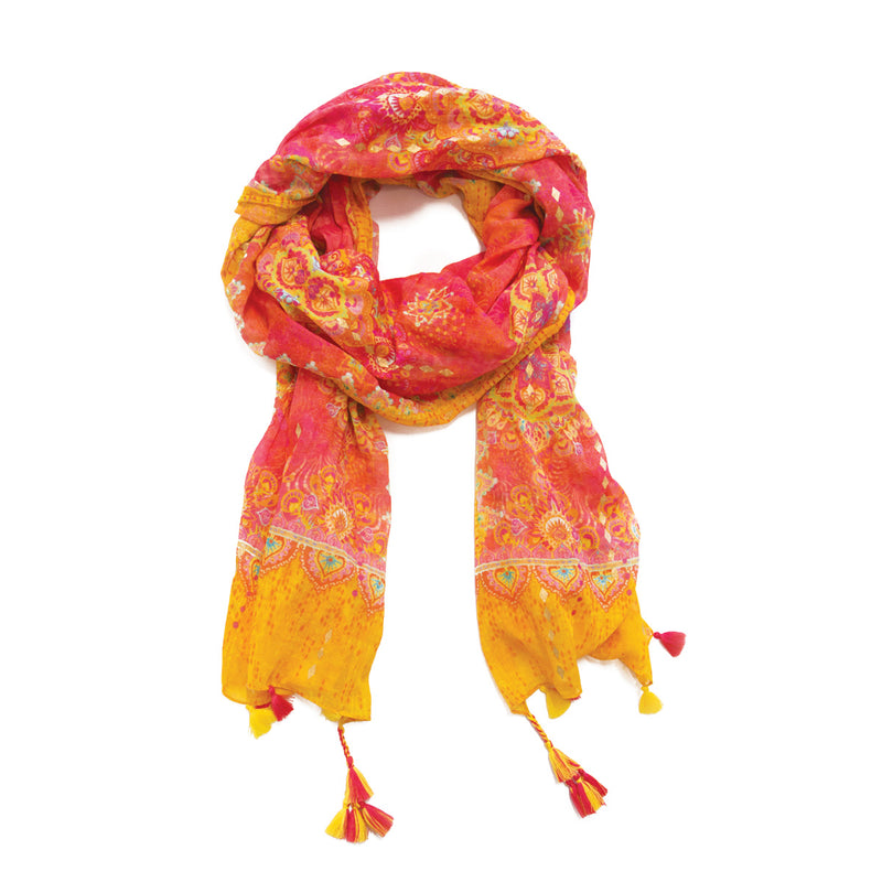 Intrinsic Happiness Summer Beach Scarf
