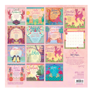 Intrinsic's 2020 Heartsong Calendar Pages with motivational messages