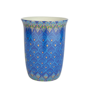 Intrinsic blue ceramic Coffee Travel Mug
