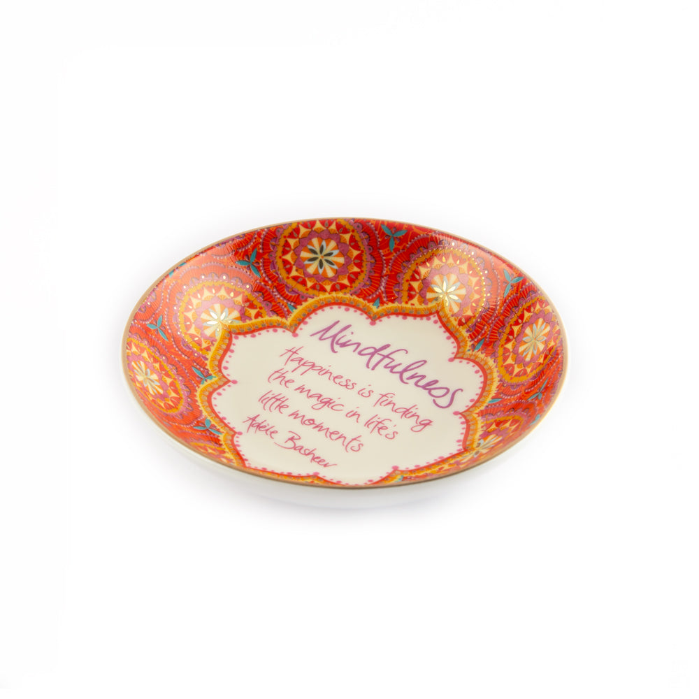 Intrinsic Mindfulness Mandala Ceramic Jewellery Dish