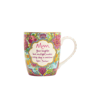 Intrinsic Illustrated Australian Native Flowers Mum Mug