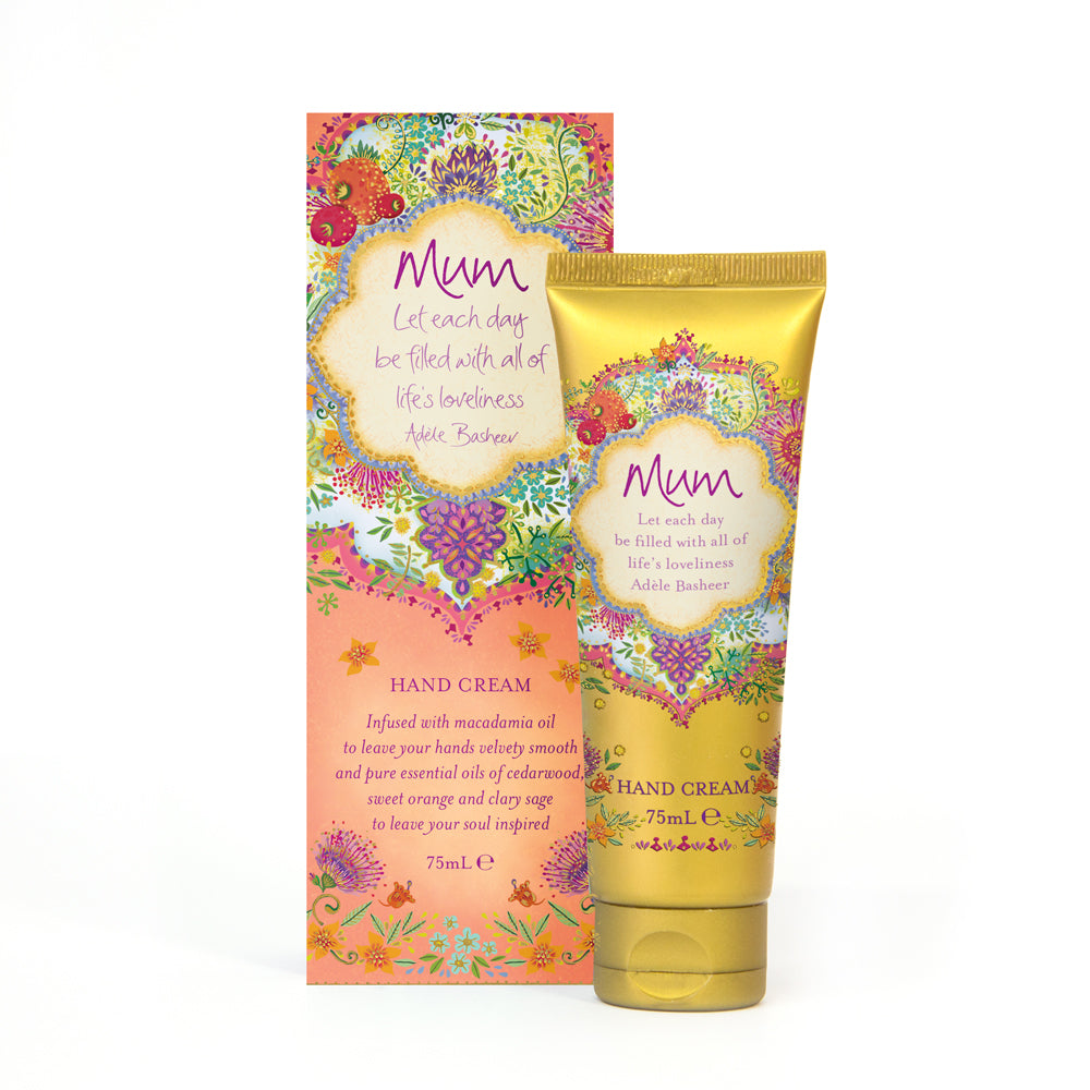 Intrinsic Native Flower Peach Mother's Day Aromatherapy Hand-cream