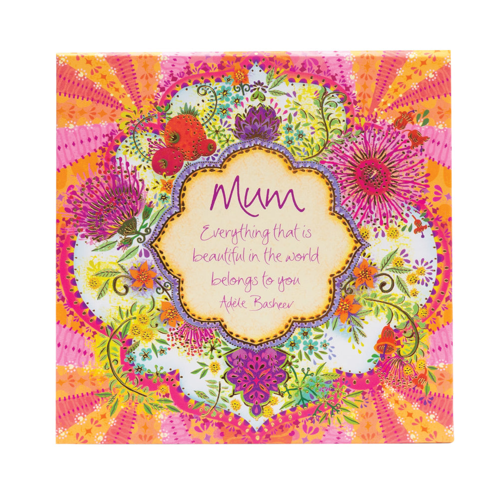 Intrinsic Stationery Mum Native Flower Stationery Notebox