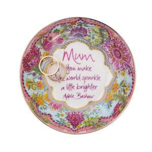 Intrinsic Botanical Blooms Mother's Day Trinket Dish