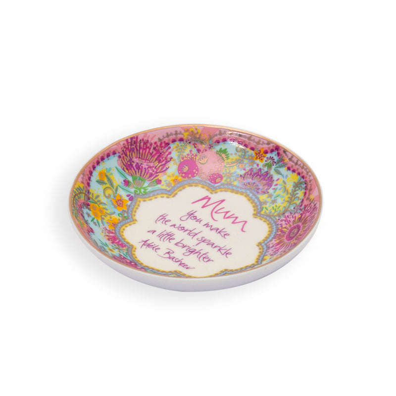 Intrinsic Mum Jewellery Trinket Dish with Adele Basheer Quote