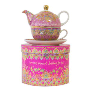 Intrinsic Precious Moments Tea For One Teapot Gift Set