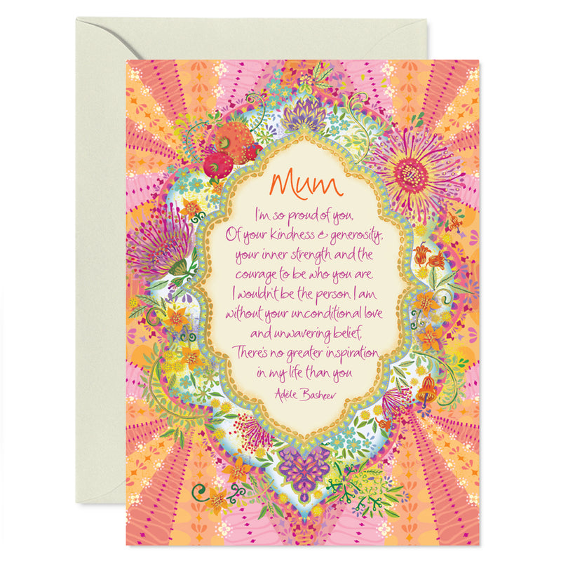 Intrinsic Mum Mother's Day Greeting Card