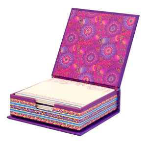Intrinsic Purple Working From Home - New Beginnings Notepaper Box