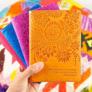 Intrinsic Colourful Vegan Leather Passport Wallets and Passport Holders