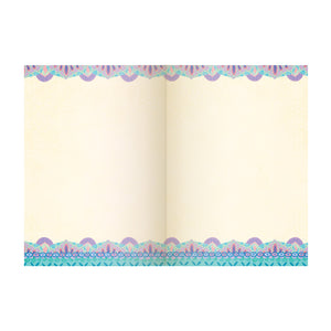 Intrinsic Blue Mandala A5 Blank Journal