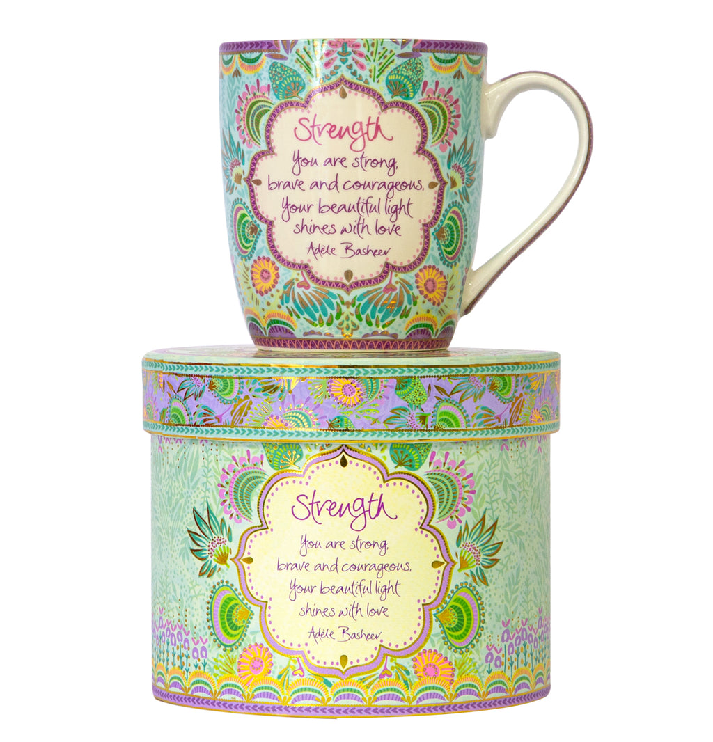 Intrinsic Healing Thoughts Strength Coffee Mug