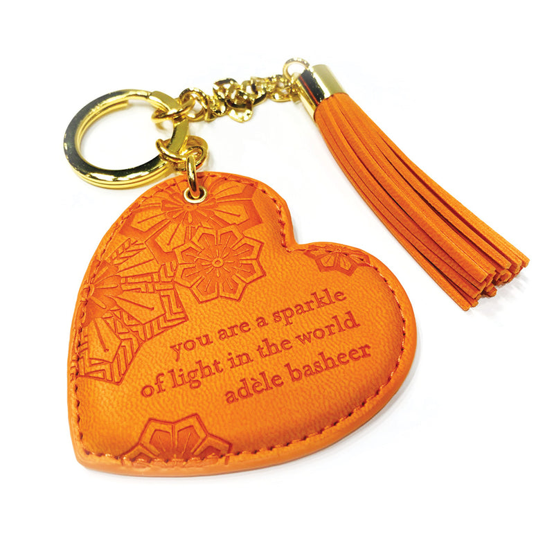 Sunrise Orange Key Chain