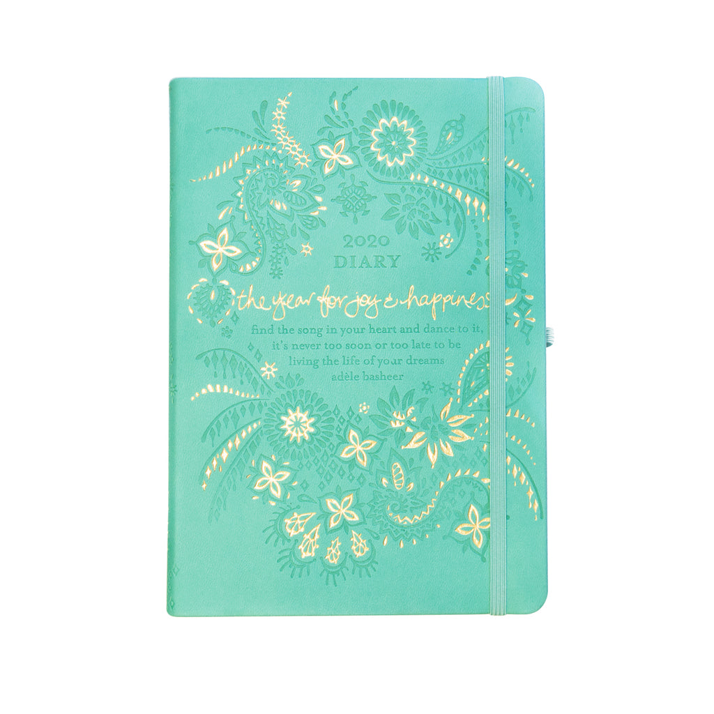 Intrinsic 2020 Tahitian Turquoise Diary, Planner + Journal