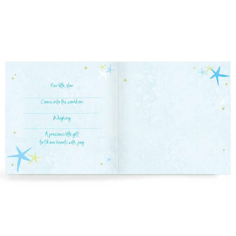 Baby Blue Thank You Cards Set of 20
