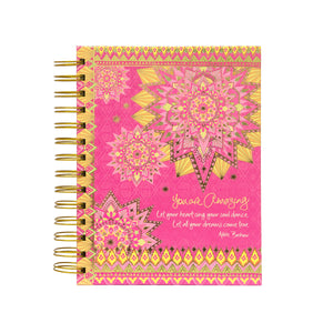 Intrinsic You Are Amazing Spiral Notebook
