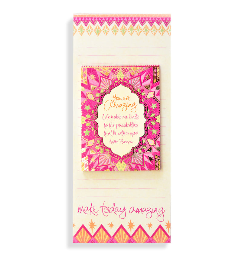 Intrinsic You Are Amazing List Pad Set