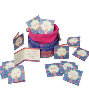 Intrinsic Adèle Basheer Courage and Strength Intuition Affirmation Cards & Box