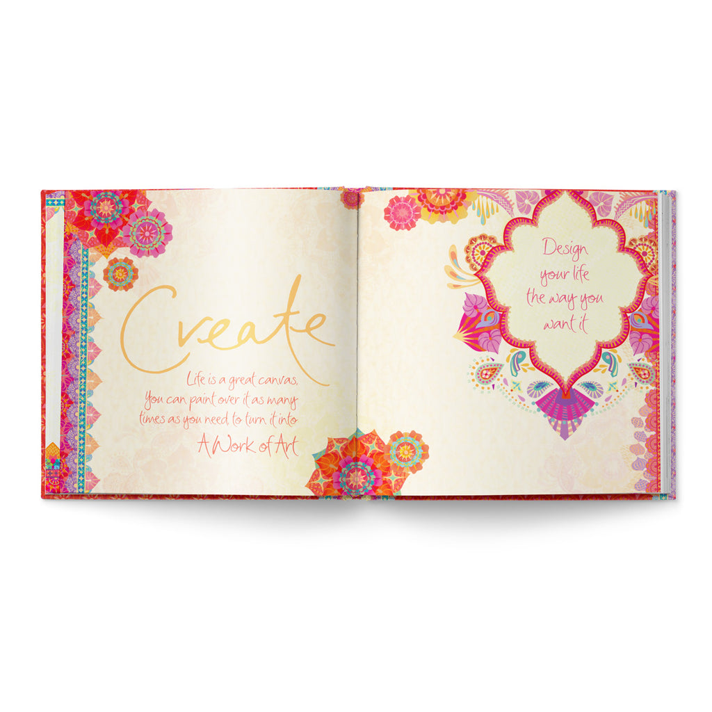 Live Laugh Love Quote Book Pages