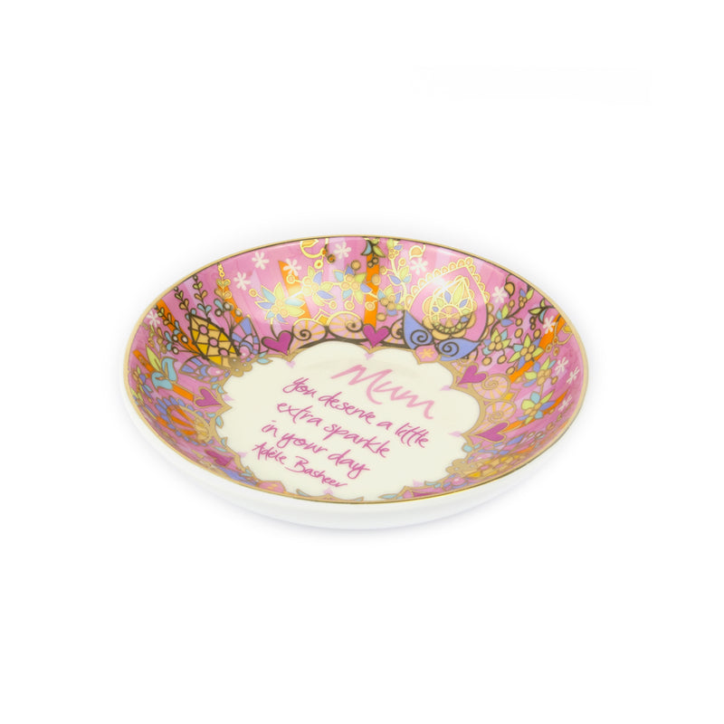 Intrinsic Pink Gifts for Mum Jewellery Trinket Dish