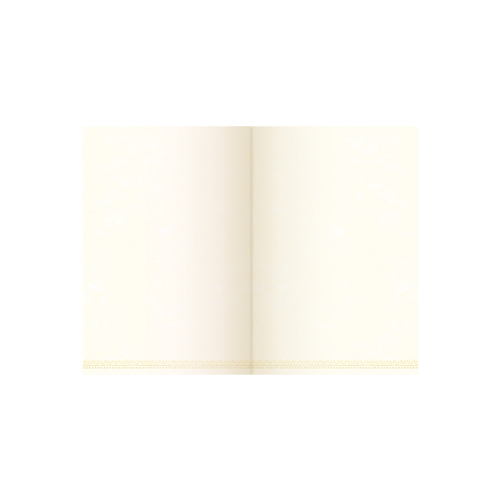 Intrinsic Coral Pocket Journal with Cream Inner Blank Pages