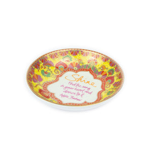 Intrinsic Yellow Red Orange Jewellery Trinket Dish