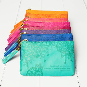 Colourful Coin Purses with Adèle Basheer Quotes